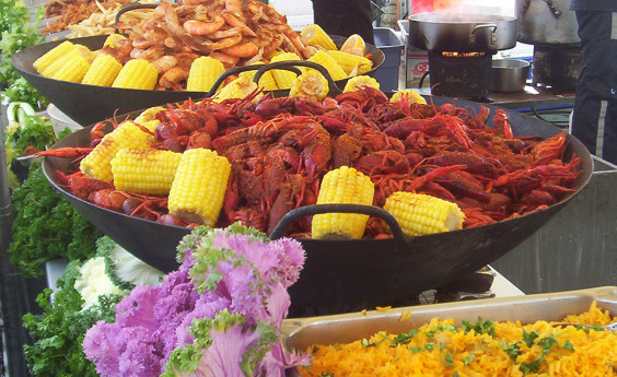 Golden Gate Seafood will feature crawfish among many other delights.
