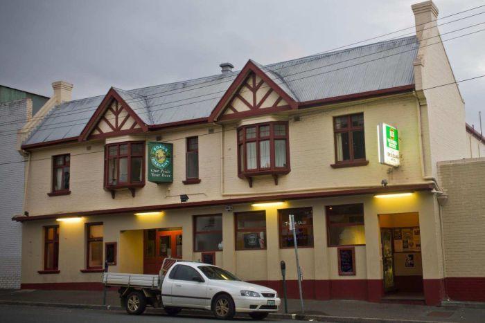 The Brisbane Hotel in Hobart, supplied Facebook.