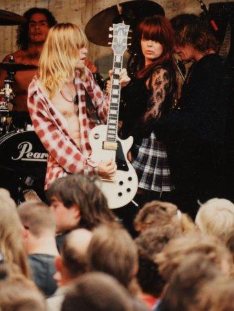 Divinyls perform at Wheatsheaf Hotel, South Hobart