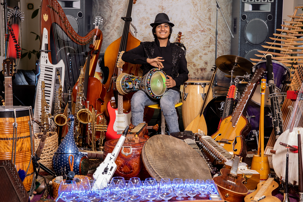 107 music instruments and counting: Meet 'Neil Nayyar' the world greatest instrumentalist