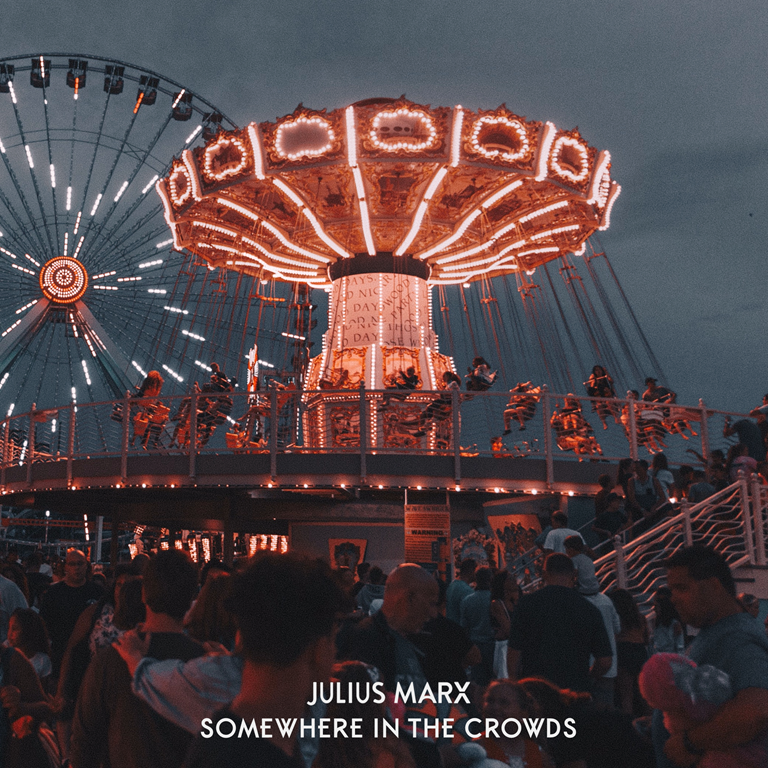 The melodic, niche and classic sounding 'Julius Marx' releases the beautiful single 'Somewhere In The Crowds' on 10 April 2020