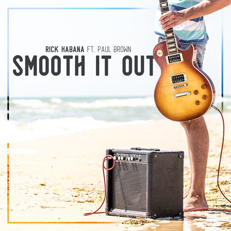 'Rick Habana' delivers a niche smooth jazz cut with the cool heavenly beach vibe of 'Smooth It Out'