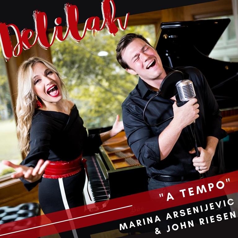 'Marina Arsenijevic' releases new music 'Delilah' and 'My Beauty'