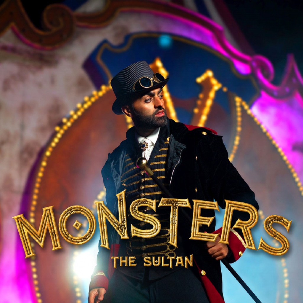 NICHE POP HALLOWEEN 2020: 'The Sultan' delivers a bouncy 80's synth bass and a 2020 Pop Production on the Disney sized 'Monsters' music video