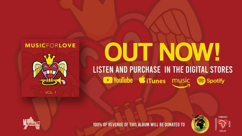 29 Artists come together for charity with new compilation album 'Music For Love'; all proceeds go to charity