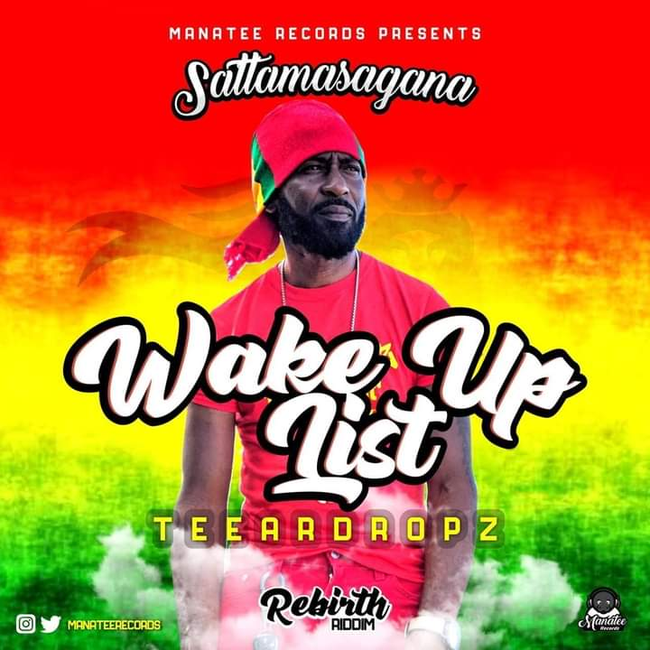With a niche reggae sound, Teeardropz aka Jonathan Brown drops 'Wake up list'